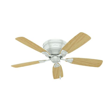 low profile white ceiling fan with light 52062 48 in low profile white ceiling fan with light