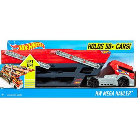 Wheels Truk Hauler Kuning wheels mega hauler truck car gift turbo