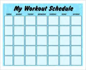 Fitness Plan Template Weekly by Weekly Exercise Plan Template Best Template Design Images