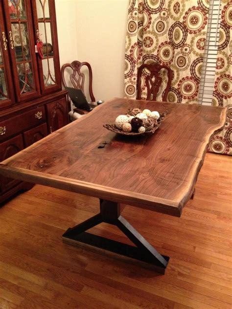 jeffs  edge dining table  wood whisperer