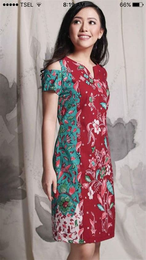 gambar design batik modern dress best 25 model dress batik ideas on pinterest