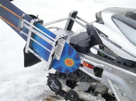 Snowmobile Ski Rack by Powderack Ski Snowboard Rackmountain Sledder Magazine