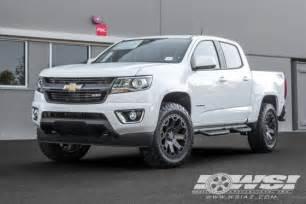 Truck Wheels For Chevy Colorado 2016 Chevrolet Colorado With 20 Quot Black Rhino Road