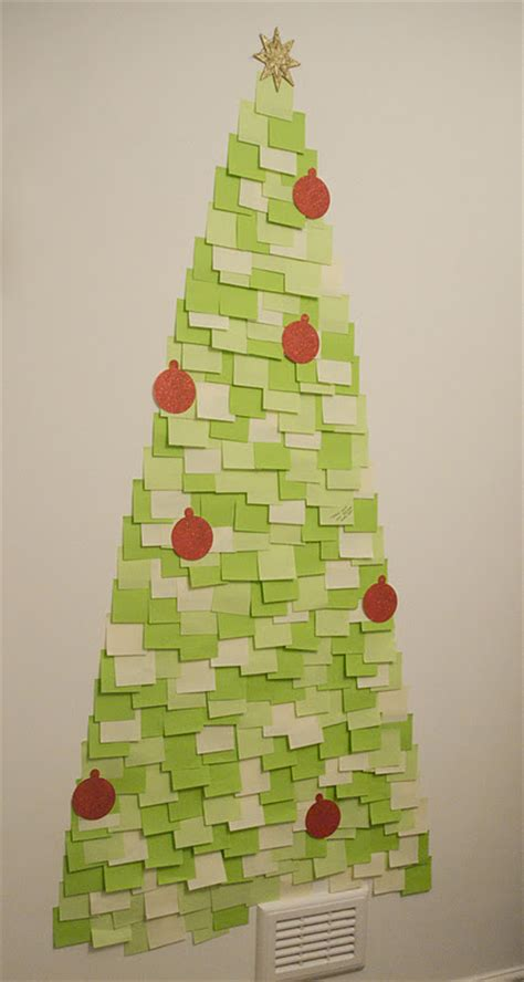latest fashion trends diy post it note christmas tree