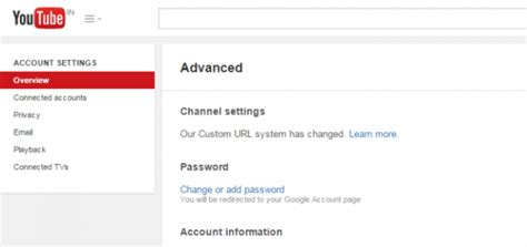 adsense url for youtube new youtube custom url system cleaning up duplicates