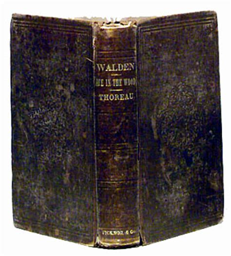 walden antique book the greatest american book walden by henry david thoreau