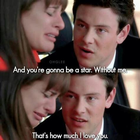 Ac Glee sigh this is one of the saddest episodes on glee glee