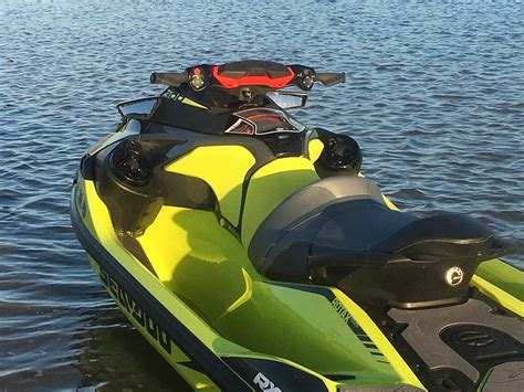 seadoo boat review 2018 sea doo pwc rxt x 300 boat test review 1350 boat