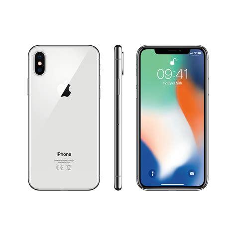 i iphone x iphone x 256 gb silver cep telefonu ar 231 elik