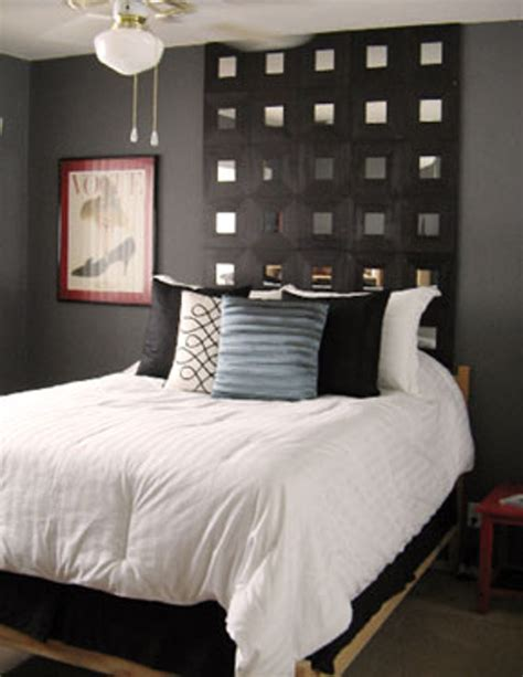 Diy Headboard Ideas How To Make A Headboard Using Ikea Mirrors Apartment Therapy