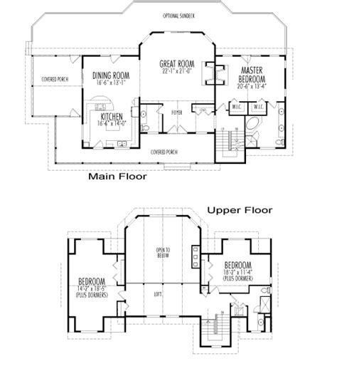 Post And Beam Home Plans Floor Plans by Kirkland Post Beam Retreats Cottages Post Beam Homes