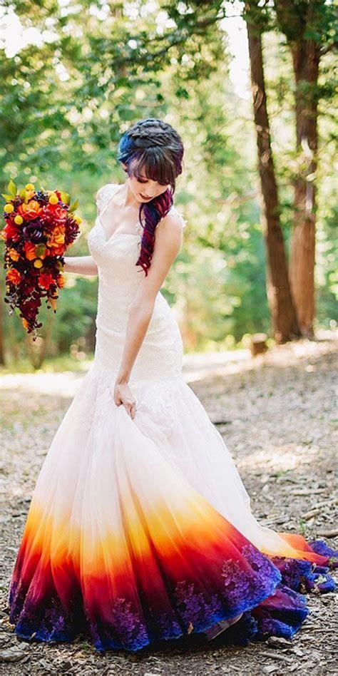 hochzeitskleid farbe 25 best color wedding dresses ideas on pinterest