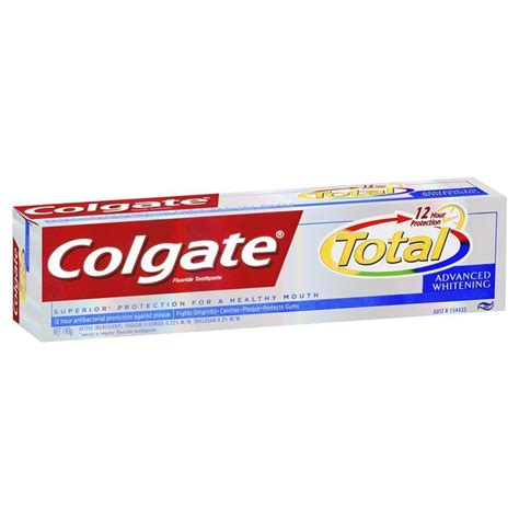 toothpaste whitening buy colgate total toothpaste whitening 190g at chemist warehouse 174