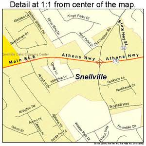 snellville map 1371604