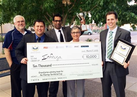 Mba Healthcare Management Az by Ua Health Graduate Student And Partners Win Arizona