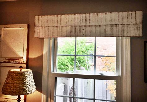 Handmade Window Treatments - handmade window valance custom window treatment wooden