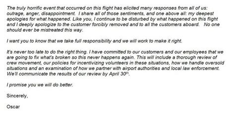 Apology Letter For Hotel Overbooking The United Airlines Story How A Pr Disaster Could Been Avoided Ronke Lawal