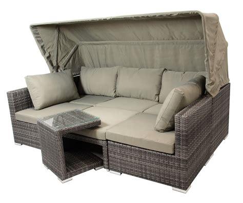 schlafzimmer 5 teilig loungeset manacor 5 teilig komplettset gartenset lounge