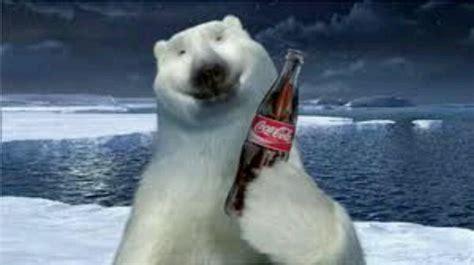 Polar Bear Coke Meme - polar bear w coke bottle coca cola pinterest