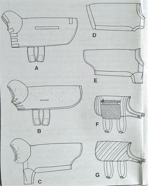 sewing pattern for dog coat with legs de 25 bedste id 233 er inden for dog coat pattern p 229