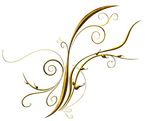 golden pattern png golden deco ornament png clipart gallery yopriceville