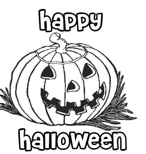 happy pumpkin coloring pages happy halloween pumpkin coloring pages printable free