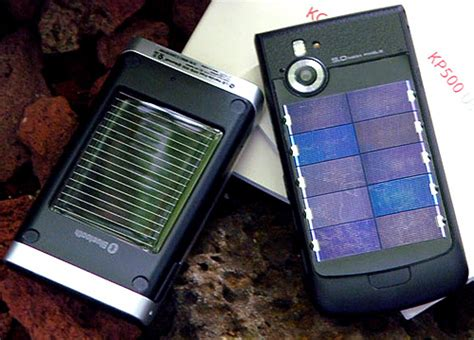 solar powered phone lg unveils solar powered cell phone next to solar powered bluetooth speaker mini review ohgizmo