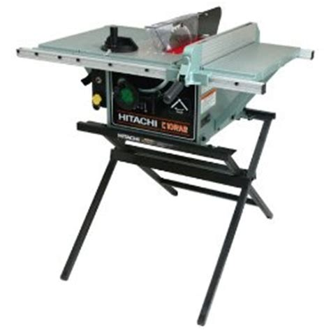hitachi table saw price hitachi c10ra2 10 quot portable table saw with metal stand