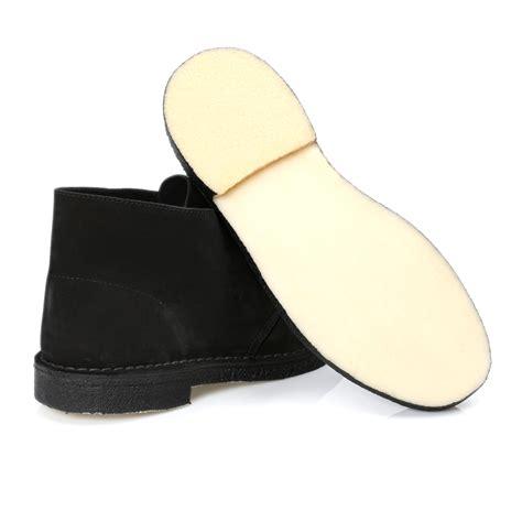 clarks black suede desert boots shoes size 8 11 ebay