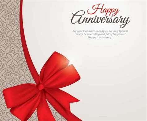 Wedding Anniversary Wishes Vector Free by Happy Anniversary Vector Graphics Freevector