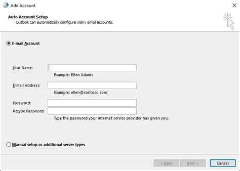 Search Accounts By Email Address Staff Email How To Add An Office 365 Email Profile To