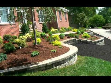 curb appeal front yard landscaping youtube