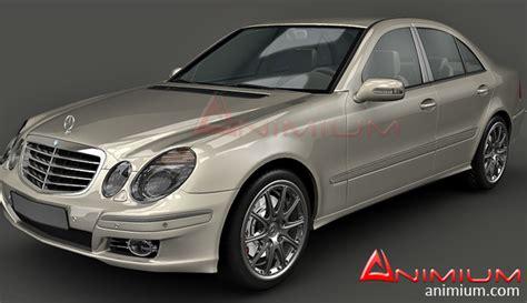 mercedes models mercedes e class w211 3d model free 3d models