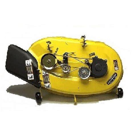 deere 54 inch mower deck tension deere 42 quot complete mower deck bg20705 bg20936 fast