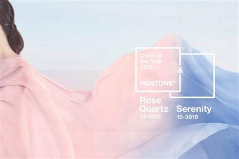 pantone color of the year 2016 pantone il colore del 2016 232 il rosa quarzo e serenit 224