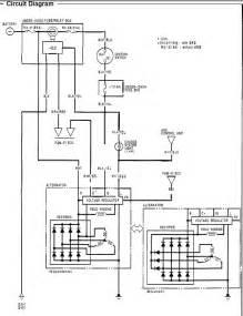 7 best images of honda civic alternator diagram 1993