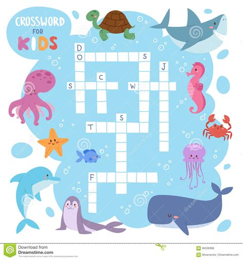 Puzzle Sea word search puzzle sea animals worksheets for