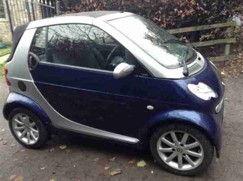 smart  fortwo passion sp  edn  silver car  sale
