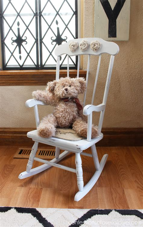 Shabby Little Rocking Chair Confessions Of A Serial Do It Yourselfer » Home Design 2017