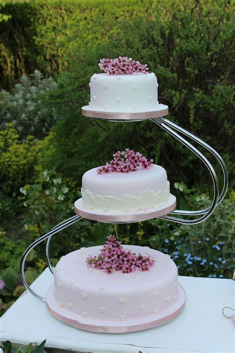 wedding cake three tier stand 3 tier silver swan wedding cake stand for hire essex 163 20
