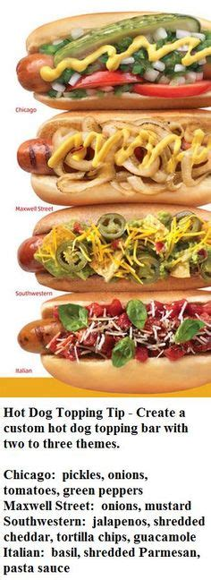 toppings for hot dog bar hot dog toppings bar for the 4th of july the perfect