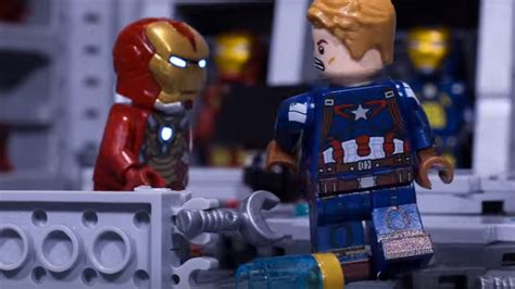 captain america lego wallpaper new fan animated short brings captain america civil war