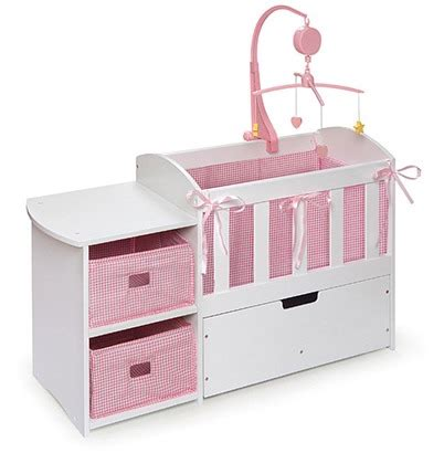 Doll Changing Table Doll Crib With Changing Table I This The Changing Table And All The Storage For
