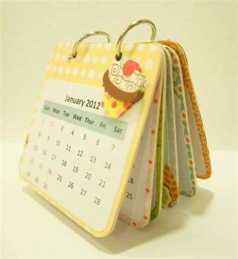 Handmade Desk Calendar - 1000 ideas about custom calendar on diy save