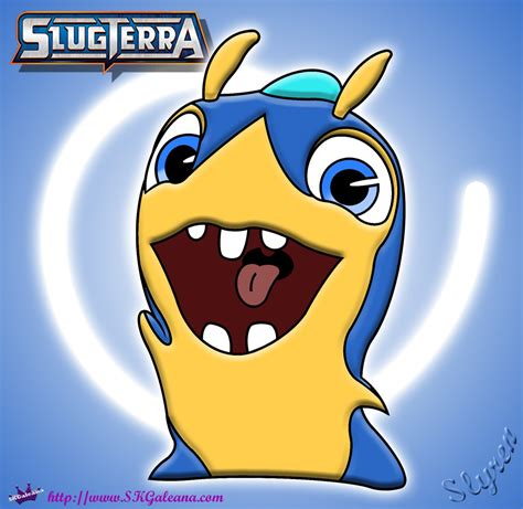 slugterra slyren slug transformed free colouring pages