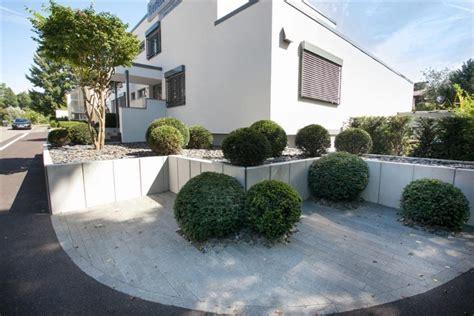 puristischer vorgarten living stone garden
