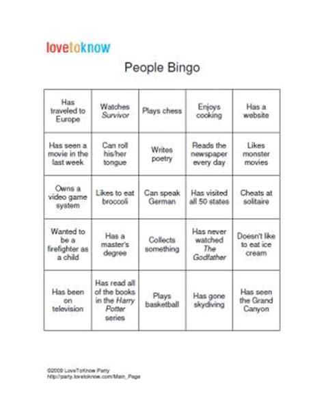 introduction bingo template bingo for adults casa larrate
