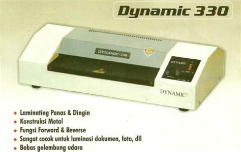 Mesin Laminating Portable mesin laminating dynamic 330a putih daftar update harga terbaru indonesia
