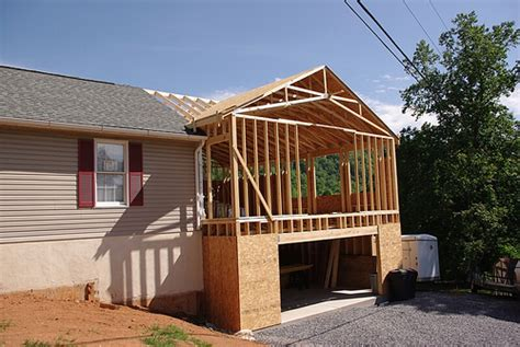 adding a bedroom to a house smith addition roof framing flickr photo sharing