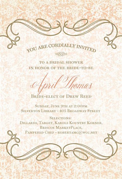 Bridal Shower Qoutes by Quotes For Bridal Shower Invitations Quotesgram